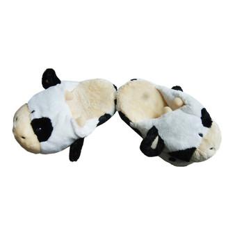 Cow toddler slipper