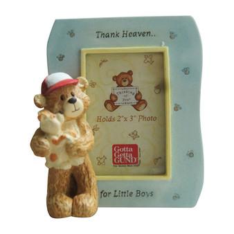 Thank heaven for little boy frame