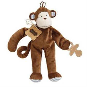 Safari Paci Cuddlers- Monkey