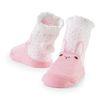 Mud pie baby bunny knee socks