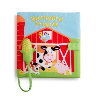 Barnyard soft baby book with sound