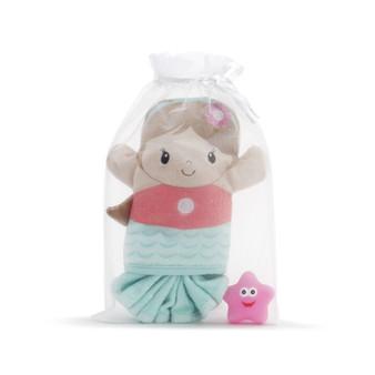 Mermaid 3 piece bath gift set