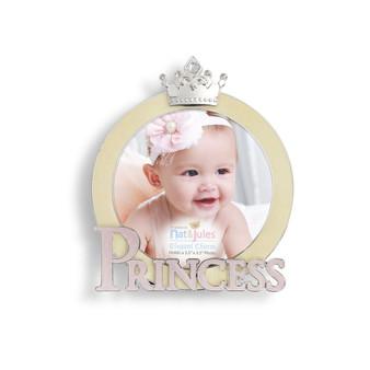 baby girl princess frame