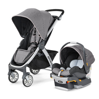 Bravo Trio Travel System - Lilla | Chicco