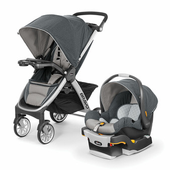 Bravo Trio Travel System - Nottingham | Chicco