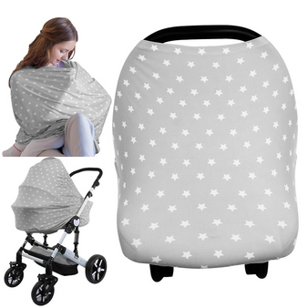 CARSEAT CANOPY - NURSING COVER (STARRY CHARM)