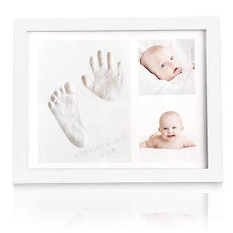 SOLO BABY HANDPRINT FOOTPRINT KEEPSAKE KIT (ALPINE WHITE)