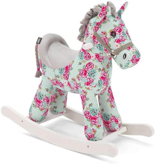 Mama's and papa's rocking horse fleur