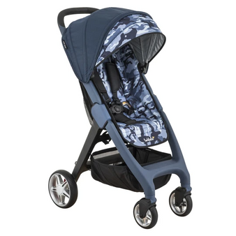 Fold up Strollers | Small Compact Stroller Longreef Navy Print
