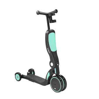 scoobi 5-in-1 Scooter Biscay Green/Black