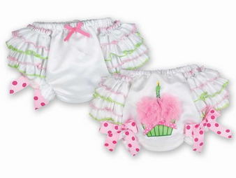 Her First Birthday Diaper Cover