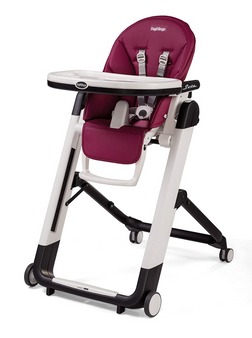 Siesta | High Chairs and Booster Seats (Berry-Raspberry Pink)