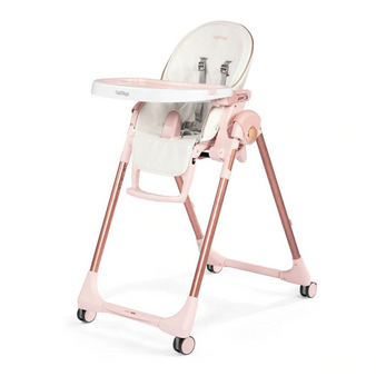 Prima Pappa Zero 3 (Mon Amour- White eco leather with Pink & Rose Gold accents)
