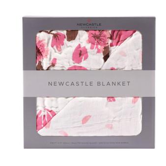 New Castle Cherry Blossom Blanket