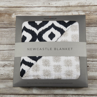 New Castle Moroccan Blue Baby Blanket