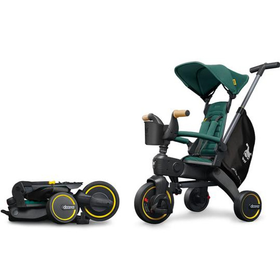Doona Liki Trike S5 Car Seat & Stroller | Racing Green