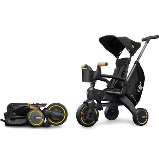 Doona Liki Trike S5 Car Seat & Stroller   Nitro Black