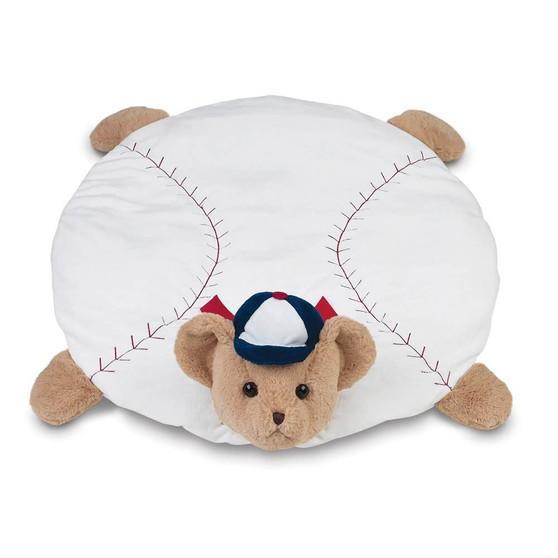 Bearington Lil' Slugger Baseball Belly Blanket