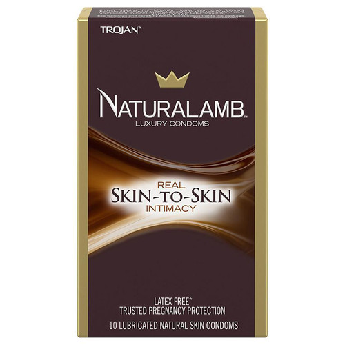 Trojan Natural Lamb Condoms Box