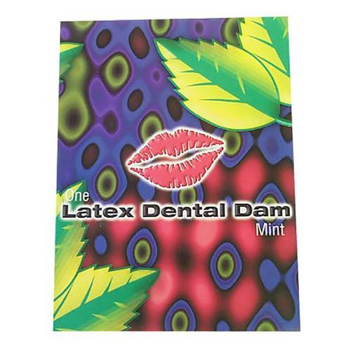 Line One Labs Mint Dental Dams Single Package