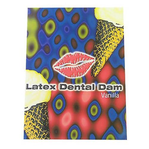 Line One Labs Vanilla Dental Dams Single Package