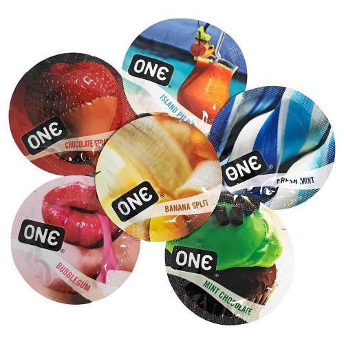 ONE Flavor Waves Condoms