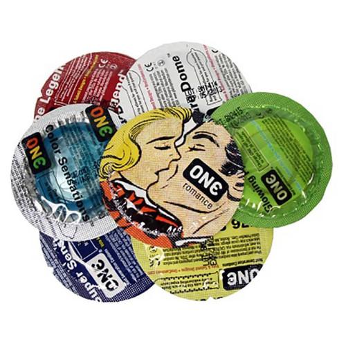 ONE Mixed Pleasure Condoms