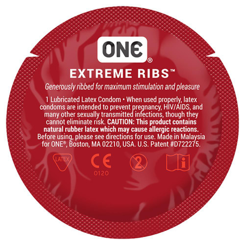 ONE Extreme Ribs Condoms