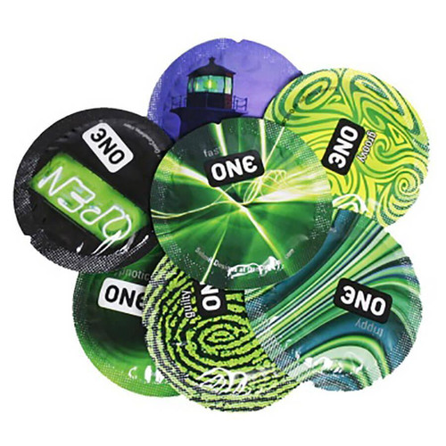 ONE Glowing Pleasures Condoms