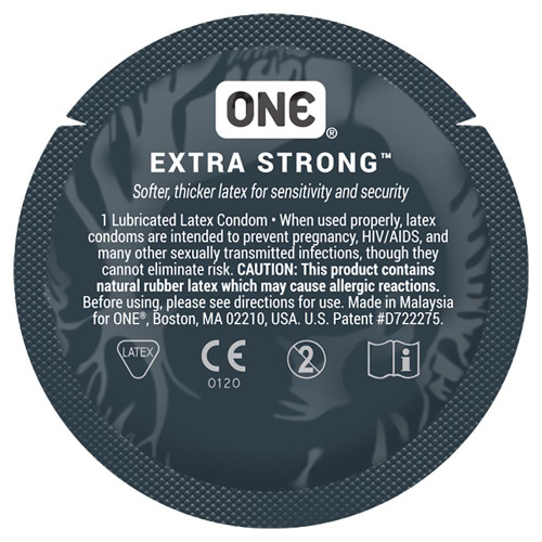ONE Extra Strong Condoms