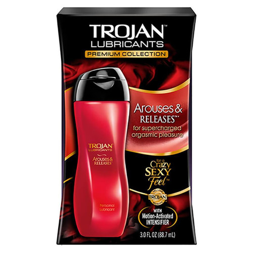 Trojan Arouses and Releases Lubricant