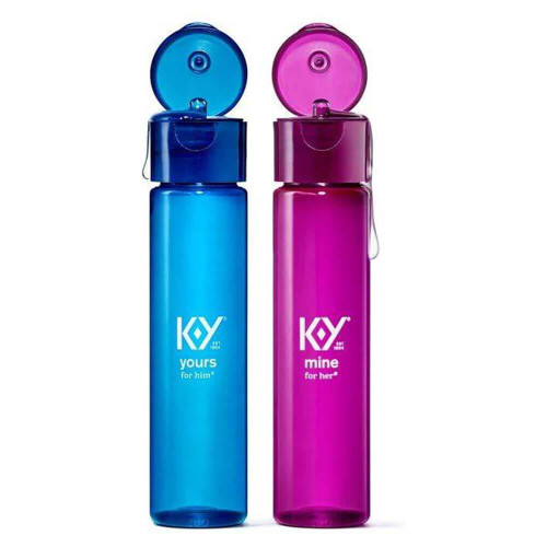 K-Y Yours and Mine Couples Lubricants