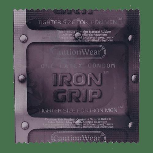 Caution Wear Iron Grip Snugger Fit Condoms