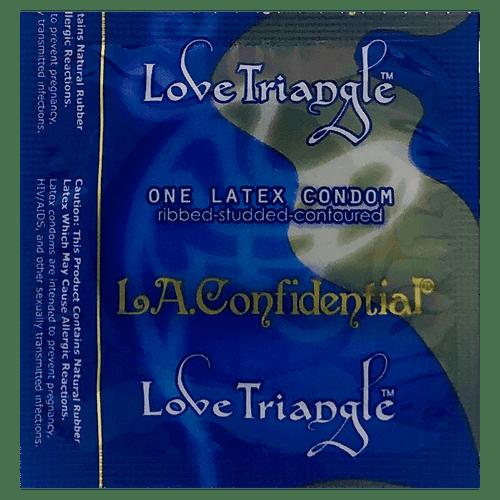 LA Confidential Love Triangle Condoms