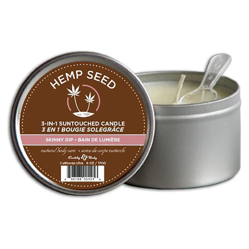 Earthly Body 3 in 1 Skinny Dip Massage Candle