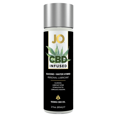 System Jo CBD Infused Silicone and Water-based