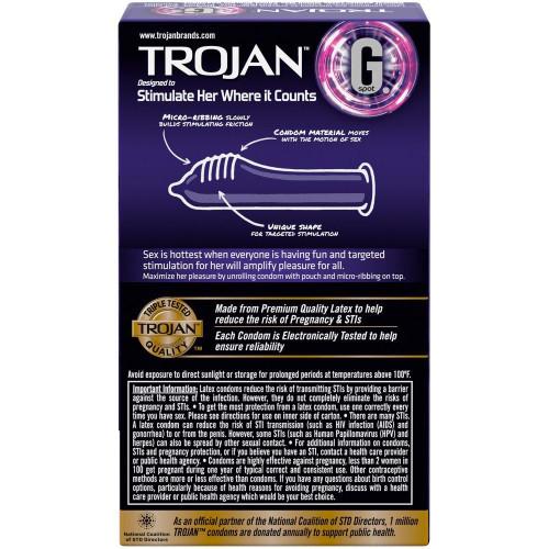 Trojan G. Spot Condoms