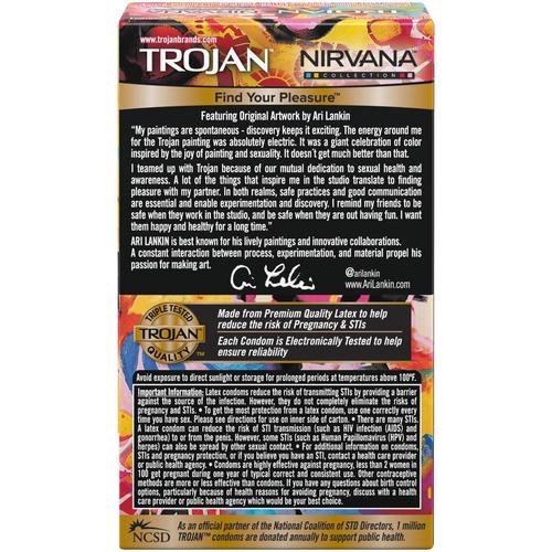 Trojan Nirvana Collection Condoms