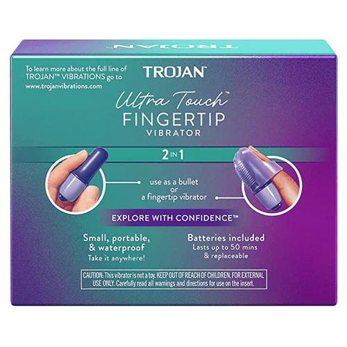 Trojan Ultra Touch Fingertip Vibrator