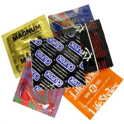 Larger Condom Variety Pack Assorted Condoms