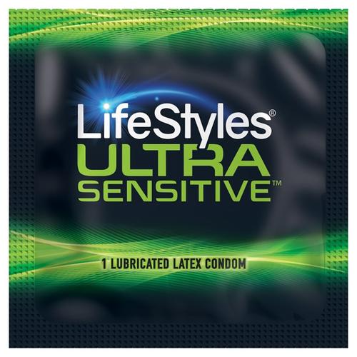 Lifestyles Ultra Sensitive Condoms single condom packaging
