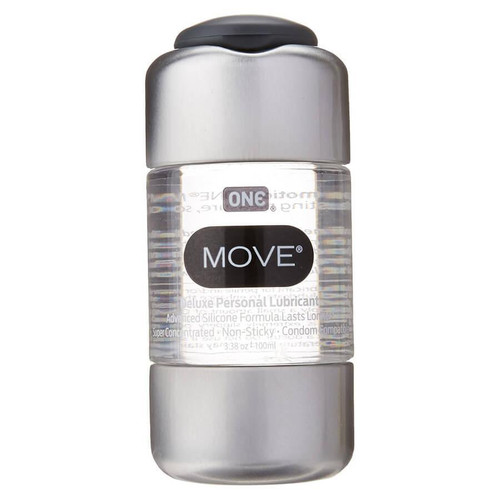 ONE Move Silicone Based Lubricant bottle