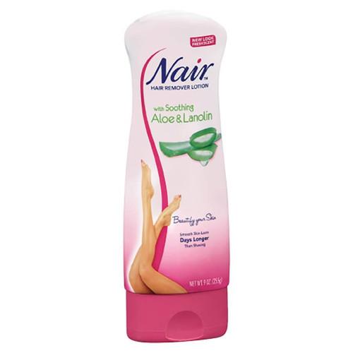 Nair Body Hair Remover - Aloe & Lanolin