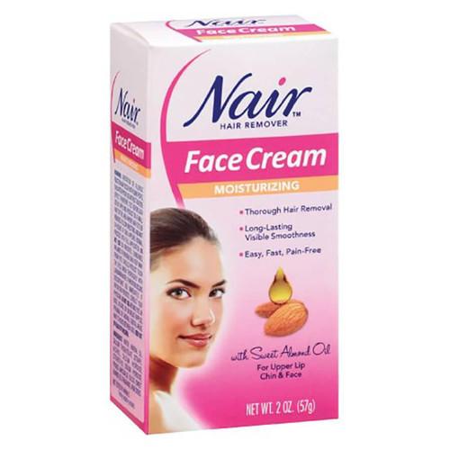 Nair Moisturizing Face Cream Package