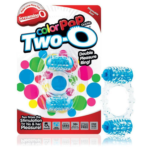 Screaming O Two-O Color Pop Blue Package