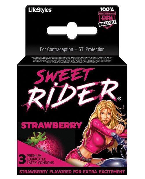 Lifestyles Sweet Rider Condom 3-Pack