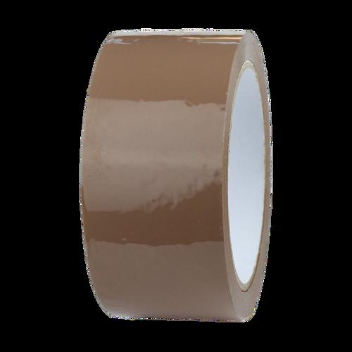 144 Rolls - Brown Parcel Tape - 48mm x 66m