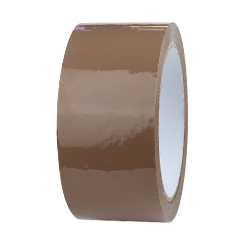 72 Rolls - Brown Parcel Tape - 48mm x 66m