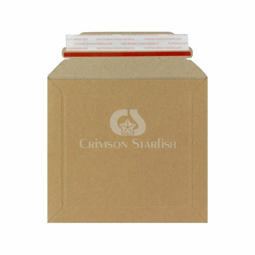 1x Rigid Cardboard Envelope - 164mm x 180mm