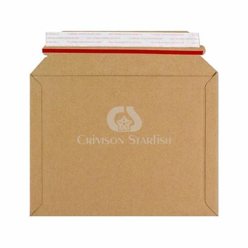 10x Rigid Cardboard Envelopes - 180mm x 235mm
